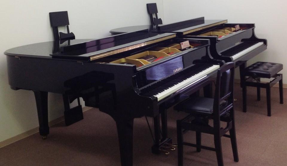 Piano Lab.(ピアノラボ)はイオンタウン北島敷地内にある予約制の中古鍵盤楽器展示場です。